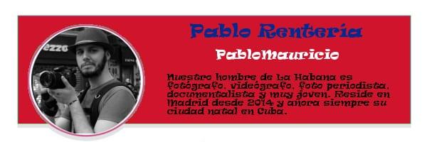 Perfil colaboradores PqHdM | Pablo Rentería | PabloMauricio