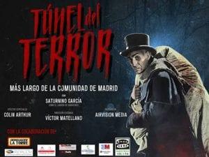 Túnel del Terror más largo de la Comunidad de Madrid | Colmenar Viejo | 28 al 31/10/2016 | Cartel