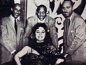 En esto llegó Fidel, se acabó la diversión   Bebo Valdés con Orestes Urfé, Obdulia Breijo y Roberto Tibeau en el Casino Sevilla   La Habana - Cuba   1958