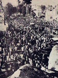 En esto llegó Fidel, se acabó la diversión   Entierro de la diva cubana Rita Montaner   La Habana - Cuba   18 de abril de 1958