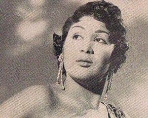 En esto llegó Fidel, se acabó la diversión   Olga Guillot en Copa Room - Havana Riviera   La Habana - Cuba   1958