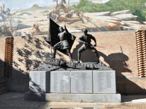 Escultura a los comuneros madrileños en Navalcarnero (Comunidad de Madrid)