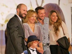'La Historia de Jan' | 2016 | Documental de Bernardo Moll Otto | Jan, el niño protagonista, con su familia en la premier de prensa | 02/11/2016