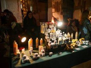 Market Solidario La Tabacalera | ADAL Otro mundo es posible | Lavapiés - Madrid | 20/11/2016 | Puesto productos naturales edición 2015