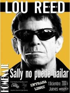 'Sally no puede bailar. Homenaje a Lou Reed | Camiseta imedia & Bolo García | Satélite T | Bilbao | 01/12/2016