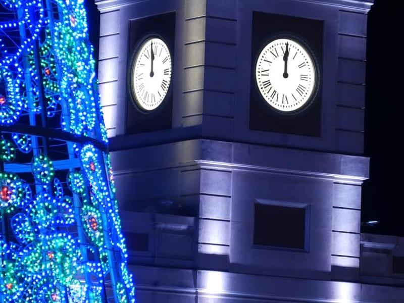 12 campanadas de fin de a o en el reloj de la puerta del for El reloj de la puerta del sol