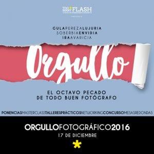 4º Día del Orgullo Fotográfico 'Too Many Flash' | Sábado 17 de diciembre de 2016 | Chamberí - Madrid | Cartel