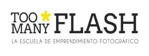 4º Día del Orgullo Fotográfico 'Too Many Flash' | Sábado 17 de diciembre de 2016 | Chamberí - Madrid | Logo TMF