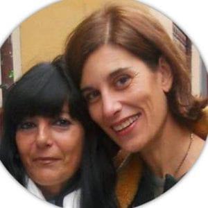 Consuelo García del Cid Guerra y Chus Gil, autoras de 'Preventorio de Guadarrama. La voz de la memoria' (Anantes, Sevilla 2016)