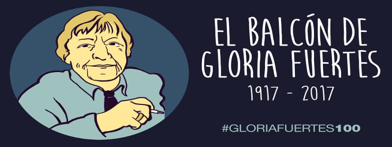 El balcón de Gloria Fuertes