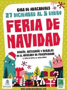 Feria de Navidad | Gira de Mercaderes | Mercado de Prosperidad | 27/12/2016 al 05/01/2017 | Chamartín - Madrid | Cartel