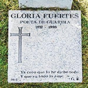 Gloria Fuertes | Poeta de Guardia | 1917-1998 | Ya creo que lo he dicho todo. Y que todo lo ame
