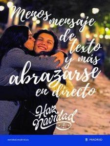 'Hacemos Navidad' | Ayuntamiento de Madrid | Programa cultural Navidad 2016-2017 | Menos mensaje de texto y más abrazarse en directo ¡Haz Navidad!