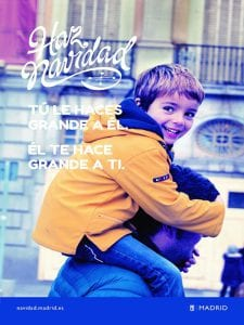 'Hacemos Navidad' | Ayuntamiento de Madrid | Programa cultural Navidad 2016-2017 | Tú le haces grande a él. Él te hace grande a ti. ¡Haz Navidad!