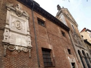 Placa recuerdo Miguel de Cervantes | Convento de las Trinitarias | Barrio de las Letras | Madrid
