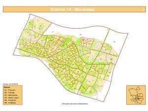 Plano | Distrito Moratalaz | Madrid