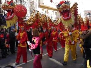 Año Nuevo Chino 2017 | Año del Gallo Rojo de Fuego | Gran Desfile | Usera - Madrid | 28/02/2017 | Foto Pablo Rentería / Cicerone Plus