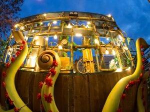 Cabalgata de Reyes de Madrid 2017 | Una oda a la curiosidad, la fantasía y la magia | 05/01/2017 | Carroza