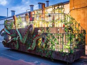 Cabalgata de Reyes de Madrid 2017 | Una oda a la curiosidad, la fantasía y la magia | 05/01/2017 | Carroza marina