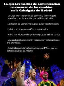 Cabalgata de Reyes de Madrid 2017 | Una oda a la curiosidad, la fantasía y la magia | 05/01/2017 |  | Lo que los medios de comunicación no cuentan