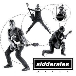 Concierto Sidderales, Los Manlys y Romeo | Rock Palace Music House | Arganzuela - Madrid | 04/02/2017 | 'Siete' portada