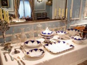 'El Taller de los Sentidos' | Museo del Romanticismo | Gastrofestival Madrid 2017 | Sala XI | El comedor | Mesa