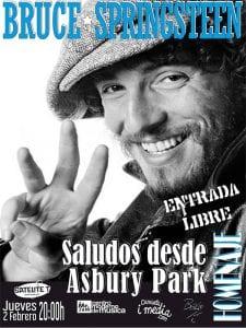 Homenaje a Bruce Springsteen | 'Saludos desde Asbury Park | 'Bolo' García - Camiseta i media | Sala Satélite T | Bilbao | Entrada libre | 02/02/2017
