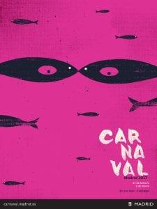 Carnaval de Madrid 201| Del 24 de febrero al 1 de marzo de 2017 | San Blas-Canillejas | Madrid | Cartel