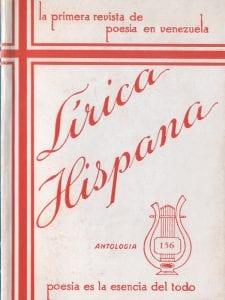 'Lírica Hispánica' | Caracas | La primera revista de poesía en Venezuela | Poesía es la esencia de todo | Antología 156