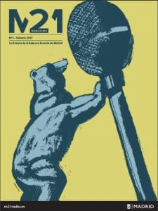 'M21 Magazine' | La revista de la Emisora Escuela de Madrid | Nº 1 | Febrero 2017 | M21Radio | Ayuntamiento de Madrid | Portada