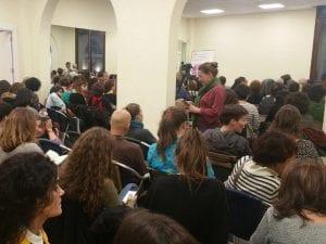 Espacio de Encuentro Feminista   Ribera de Curtidores   El Rastro   Distrito Centro   Madrid   Marcela Lagarde   Día Internacional de las Mujeres