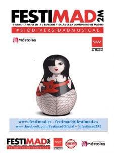 Festimad 2M 2017 | 24ª edición | 19/04 al 07/05/2017 | #biodiversidadmusical | Cartel