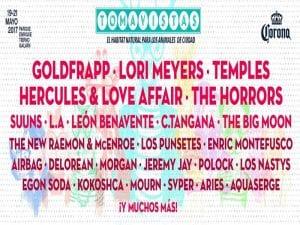 Festival Tomavistas 2017 | Parque Enrique Tierno Galván | Arganzuela - Madrid | 19 al 21/05/2017