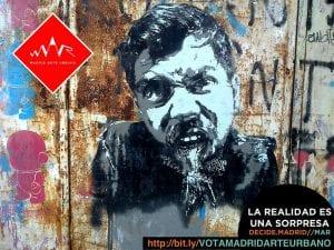 MAR - Madrid Arte uRbano | Proyecto Museo de Arte Urbano | Distrito Puente de Vallecas | Madrid | La realidad es una sorpresa