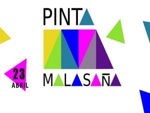 Pinta Malasaña 2017 | Barrio de Malasaña | Distrito Centro | Madrid | Domingo 23 de abril de2017 | Cartel
