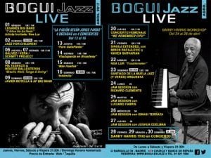 Programación | Conciertos Bogui Jazz | Abril 2017 | Chueca - Centro - Madrid | Cartel