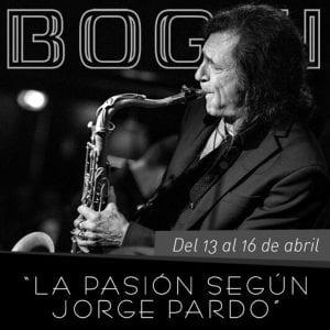 Programación | Conciertos Bogui Jazz | Abril 2017 | Chueca - Centro - Madrid | 'La pasión según Jorge Pardo'