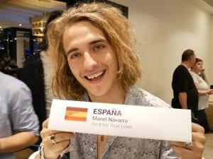 Eurovision Spain 2017 Pre-Party Madrid | 15/04/2017 | Manel Navarro | Representante de España con 'Do It For Your Lover'