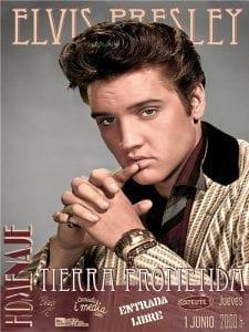 Homenaje a Elvis Presley | 'Tierra prometida' | 'Bolo' García - Camiseta i media | Sala Satélite T | Bilbao | Entrada libre | 01/06/2017
