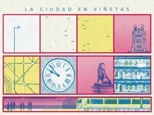 'La ciudad en viñetas' | CentroCentro Cibeles de Cultura y Ciudadanía | Palacio de Cibeles | Madrid | Roberto Massó | 06/04 al 02/07/2017