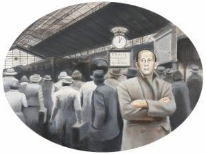 'Mes de las Letras' | Conde Duque | Madrid | 5-27 abril 2017 | 'El viaje y el escritor. Europa 1914-1939' | Corpus Barga | Damián Flores | Foto Pablo Linés