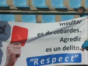 'No quieren acabar con la violencia en el deporte base' | Comunicado Club Deportivo Palestra Atenea | Insultar es de cobardes. Agredir es un delito. Respect