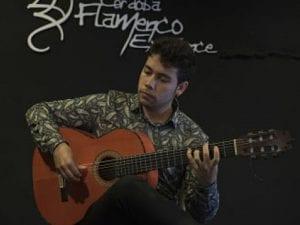4º Certamen de Cante, Baile y Guitarra 'Alcobendas Flamenca Nuevos Talentos' | Gala de entrega de premios | 26/05/2017 | Alcobendas | Comunidad de Madrid | David Caro | Premio Guitarra