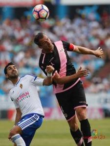 Lance del partido Zaragoza-Rayo Vallecano | LaLiga 1|2|3 | Jornada 40ª | 28/05/2017 | Foto LaLiga 1|2|3