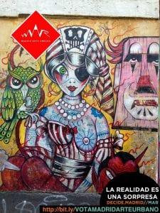 Madrid Arte uRbano y Creación Centro Cultural 2.0 pasan a la fase de apoyos | La realidad es una sorpresa...