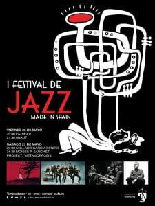 Primer Festival de Jazz Made in Spain | Torrelodones | Comunidad de Madrid | 26 y 27/05/2017 | Cartel