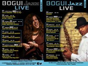 Programación | Conciertos Bogui Jazz Mayo 2017 | Chueca - Centro - Madrid | Cartel