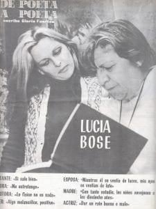 De poeta a poeta | Escribe Gloria Fuertes | Lucía Bosé | Hacia 1980