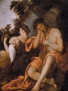 'El Renacimiento en Venecia' | Museo Thyssen-Bornemisza | | 'Los músicos' | h. 1520 | Giovanni Cariani (Giovanni de' Bussi) | Bergamo | Fondazione Accademia Carrara