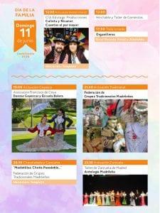 Fiestas de San Antonio de la Florida 2017 | Parque de la Bombilla | Moncloa-Aravaca | Madrid | 09 al 13/06/2017 | Programa domingo 11 de junio | Día de la Familia